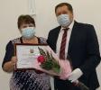 Вручение правительственных наград на 34-й сессии райСовета_16