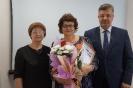 вручение Приветственного адреса с  юбилейным Днем рождения  пенсионеру В.П. Заболуевой