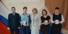 Торжественное вручение паспортов  юным  гражданам – Берзину Д.А., Корячко К.В., Сысоеву Д.А. -  в рамках празднования 25-летия со дня подписания Конституции РФ